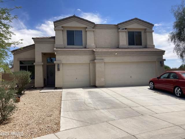 37207 W Leonessa Avenue, Maricopa, AZ 85138 (MLS #6240035) :: Executive Realty Advisors