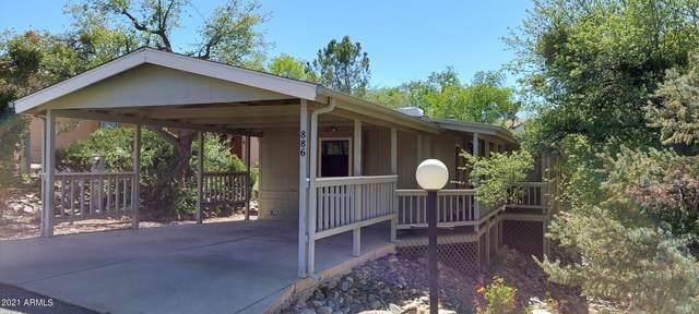 886 N Glade Drive, Prescott, AZ 86301 (MLS #6241253) :: The Garcia Group