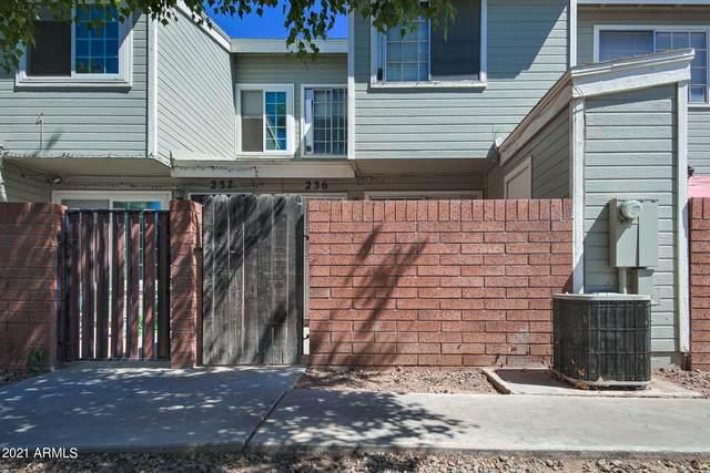 510 N Alma School Road #236, Mesa, AZ 85201 (MLS #6241416) :: Yost Realty Group at RE/MAX Casa Grande