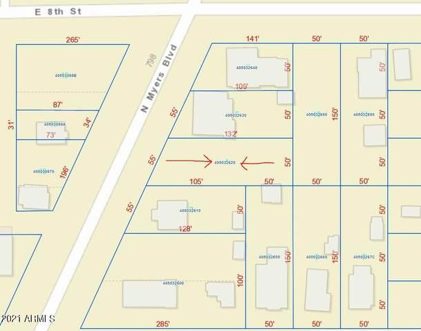 807 N Myers Boulevard, Eloy, AZ 85131 (MLS #6243482) :: Long Realty West Valley