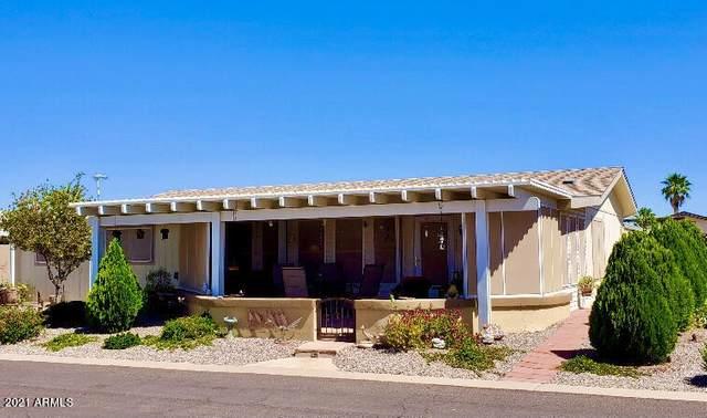 3700 S Tomahawk Road #43, Apache Junction, AZ 85119 (MLS #6244337) :: RE/MAX Desert Showcase
