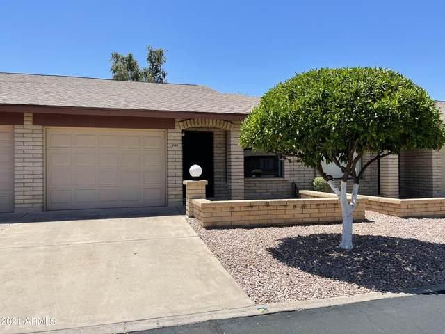 2064 S Farnsworth Drive #103, Mesa, AZ 85209 (MLS #6244559) :: Yost Realty Group at RE/MAX Casa Grande