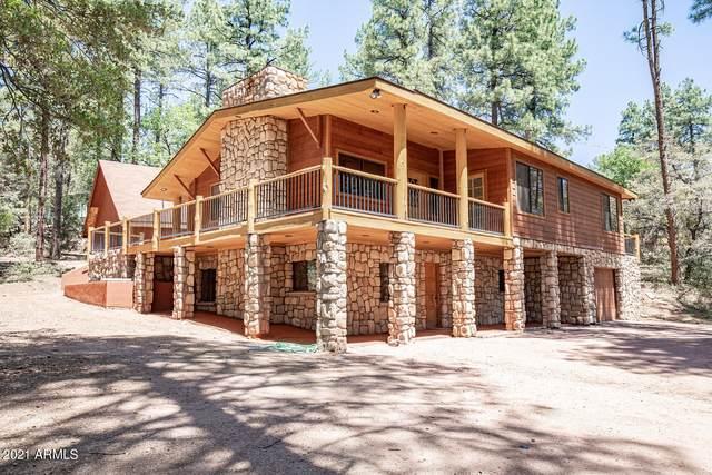 6714 W Hardscrabble Mesa Road, Pine, AZ 85544 (MLS #6244675) :: Yost Realty Group at RE/MAX Casa Grande