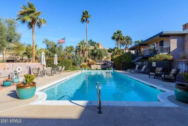 4911 N 74TH Street #23, Scottsdale, AZ 85251 (MLS #6245948) :: RE/MAX Desert Showcase