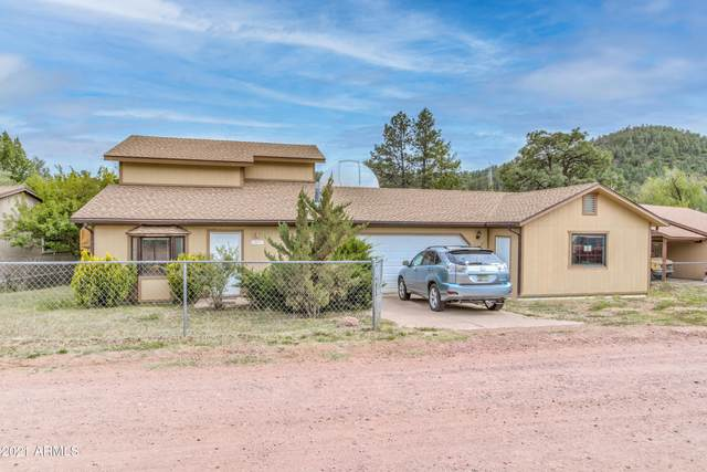 9055 W Juniper Road, Pine, AZ 85544 (MLS #6245967) :: Yost Realty Group at RE/MAX Casa Grande