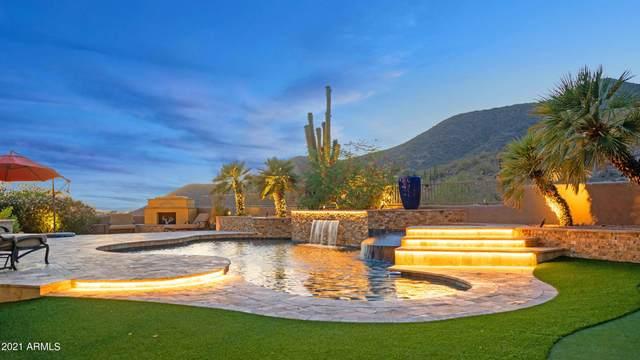 11962 E Desert Trail Road, Scottsdale, AZ 85259 (MLS #6246481) :: The Luna Team