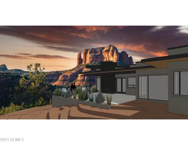 49 Summit Way Lot 16, Sedona, AZ 86336 (MLS #6247021) :: Yost Realty Group at RE/MAX Casa Grande