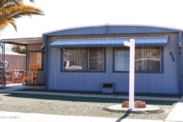 654 S 93RD Street, Mesa, AZ 85208 (MLS #6247758) :: Long Realty West Valley