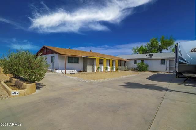685 Mount Pleasant Road, Wickenburg, AZ 85390 (MLS #6249427) :: Long Realty West Valley