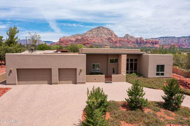 460 Foothills South Drive Lot 37, Sedona, AZ 86336 (MLS #6249626) :: Long Realty West Valley