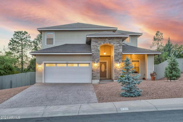 604 N Oak Ridge Road N, Payson, AZ 85541 (MLS #6249627) :: Executive Realty Advisors