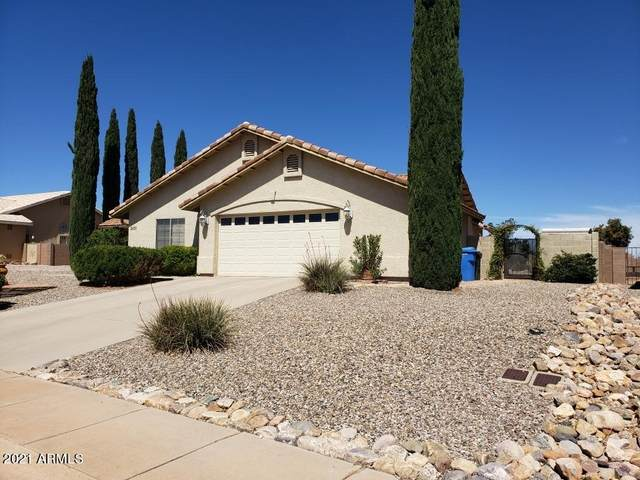 3831 Camino Bella Rosa, Sierra Vista, AZ 85650 (MLS #6249831) :: Executive Realty Advisors