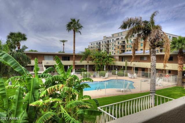 6824 E 2ND Street #213, Scottsdale, AZ 85251 (MLS #6249857) :: The Riddle Group