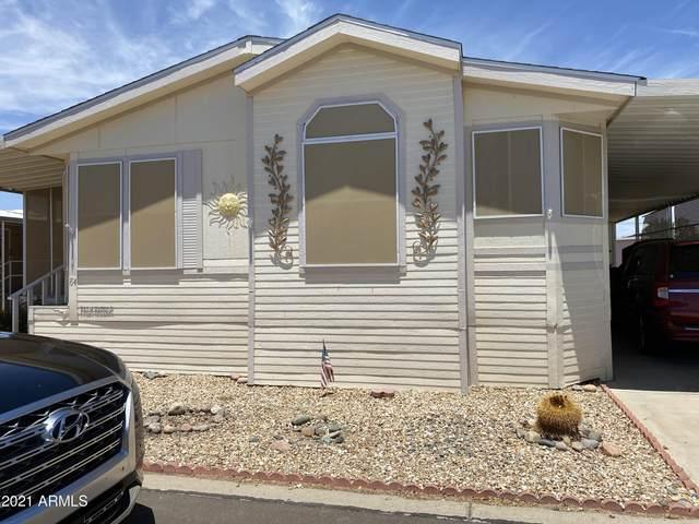 11596 W Sierra Dawn Boulevard #84, Surprise, AZ 85378 (MLS #6250004) :: Devor Real Estate Associates