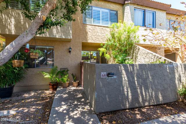 2121 S Pennington Street #68, Mesa, AZ 85202 (MLS #6250350) :: Zolin Group