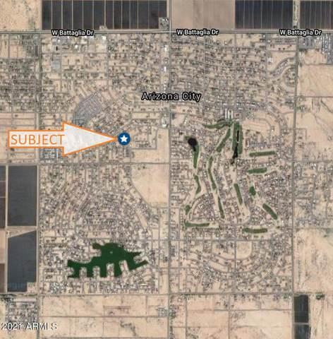 10253 W Wenden Drive, Arizona City, AZ 85123 (MLS #6250664) :: Executive Realty Advisors