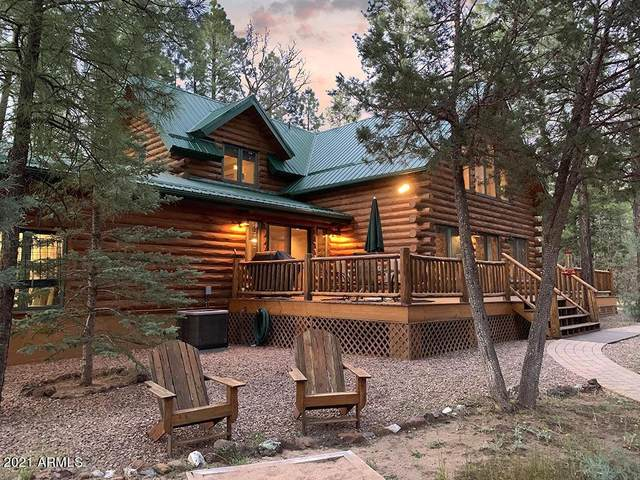 4543 Hilltop Drive, Lakeside, AZ 85929 (MLS #6250784) :: Executive Realty Advisors