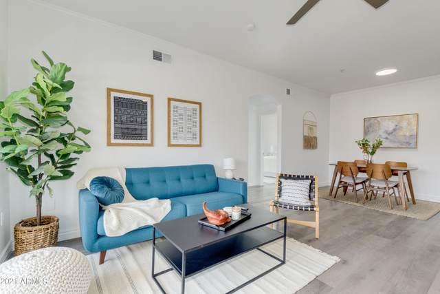 5345 E Van Buren Street #361, Phoenix, AZ 85008 (MLS #6251314) :: Justin Brown | Venture Real Estate and Investment LLC