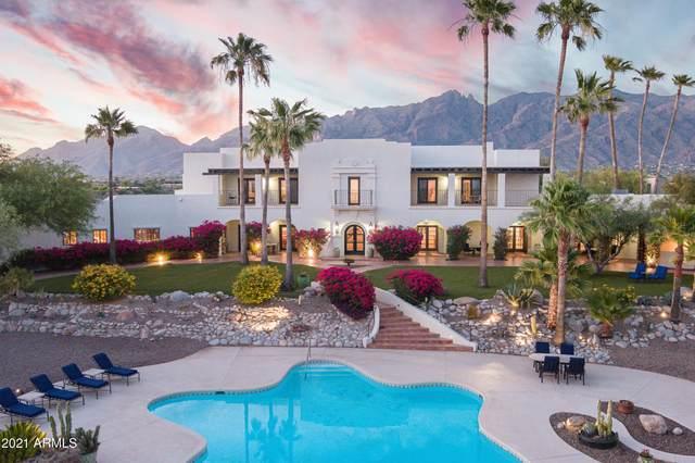 5201 N Hacienda Del Sol Road, Tucson, AZ 85718 (MLS #6251350) :: Yost Realty Group at RE/MAX Casa Grande