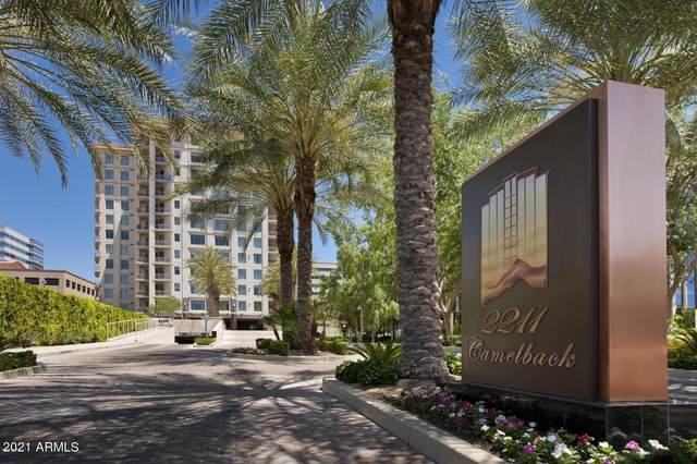 2211 E Camelback Road #509, Phoenix, AZ 85016 (MLS #6251609) :: Yost Realty Group at RE/MAX Casa Grande