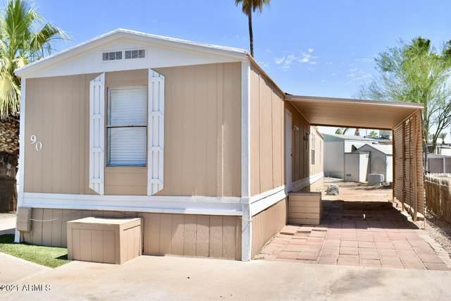 1650 S Arizona Avenue #90, Chandler, AZ 85286 (MLS #6251670) :: Jonny West Real Estate