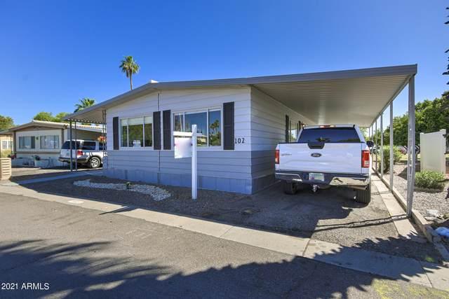 201 S Greenfield Road #102, Mesa, AZ 85206 (MLS #6251878) :: RE/MAX Desert Showcase