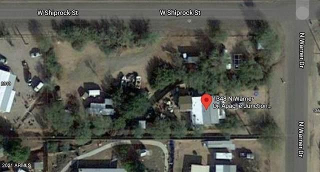 1348 N Warner Drive, Apache Junction, AZ 85120 (MLS #6251936) :: Keller Williams Realty Phoenix