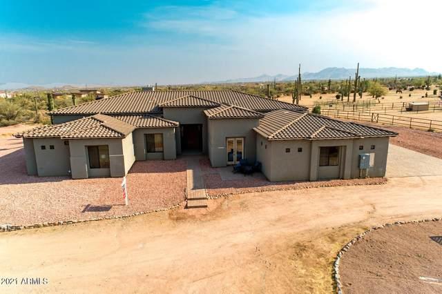 16705 E Calle De Las Estrellas Road, Scottsdale, AZ 85262 (MLS #6252215) :: Long Realty West Valley
