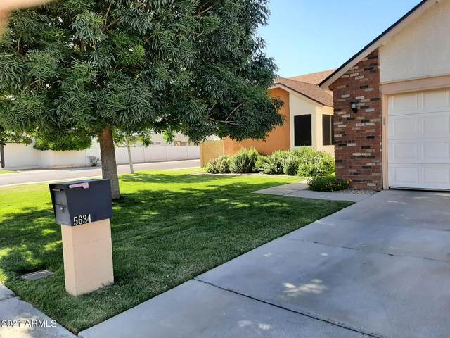 5634 W Mescal Street, Glendale, AZ 85304 (MLS #6252386) :: Yost Realty Group at RE/MAX Casa Grande