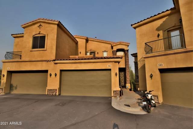 19226 N Cave Creek Road #102, Phoenix, AZ 85024 (MLS #6252457) :: My Home Group