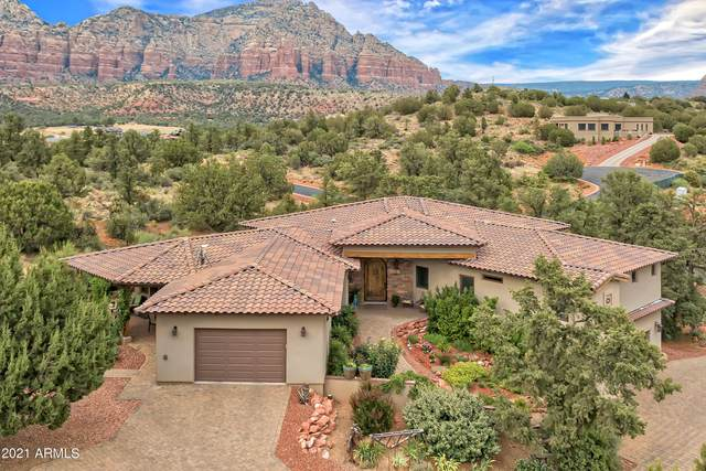 30 Granite Mountain Road, Sedona, AZ 86351 (MLS #6252848) :: The Laughton Team