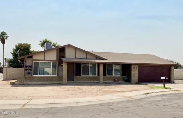 114 E Saguaro Street, Casa Grande, AZ 85122 (MLS #6252934) :: Long Realty West Valley