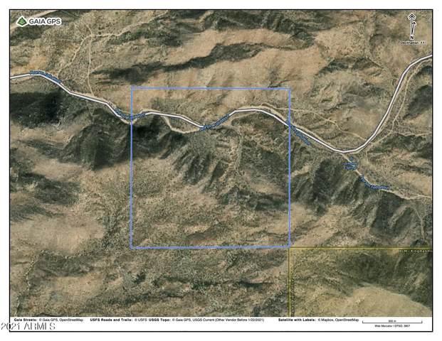 160 Acres Eagle Springs Road, Wikieup, AZ 85360 (MLS #6253455) :: Keller Williams Realty Phoenix