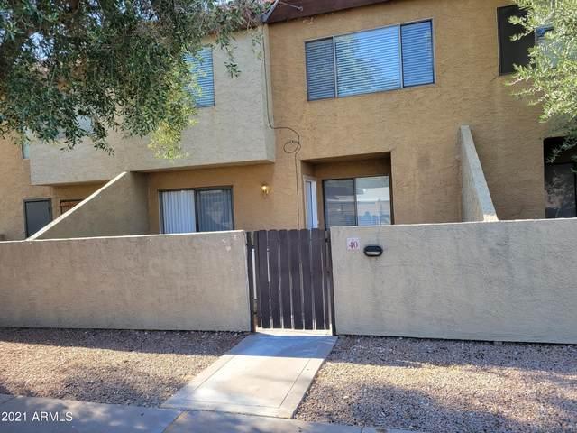 2121 S Pennington Street #40, Mesa, AZ 85202 (MLS #6253795) :: Yost Realty Group at RE/MAX Casa Grande