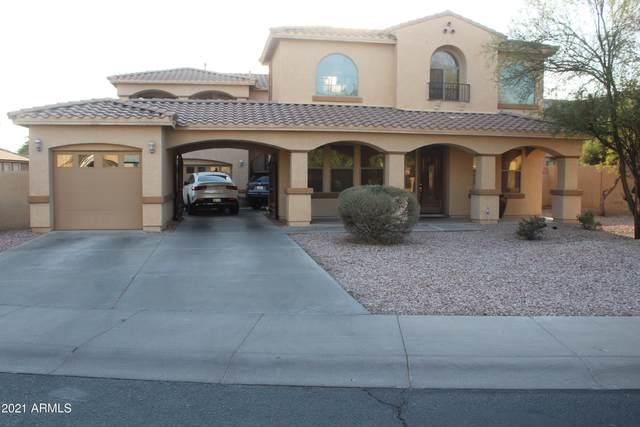 4370 N 152ND Drive, Goodyear, AZ 85395 (MLS #6254361) :: Yost Realty Group at RE/MAX Casa Grande