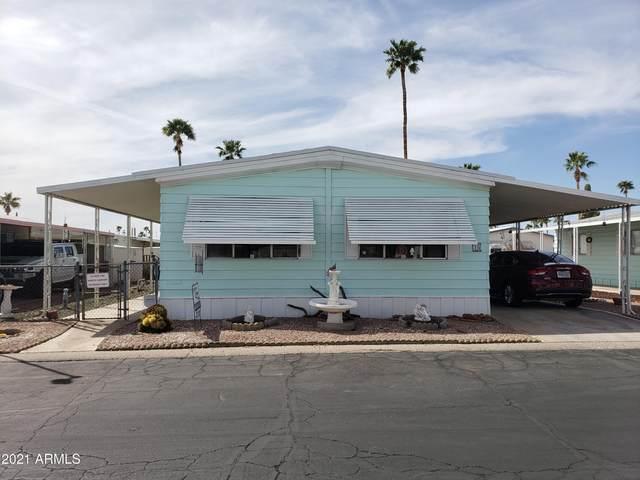 202 N Meridian Drive #15, Apache Junction, AZ 85120 (MLS #6254404) :: The Dobbins Team