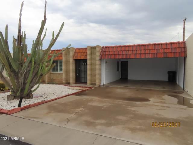 332 N Dobson Road #22, Mesa, AZ 85201 (MLS #6255028) :: Jonny West Real Estate