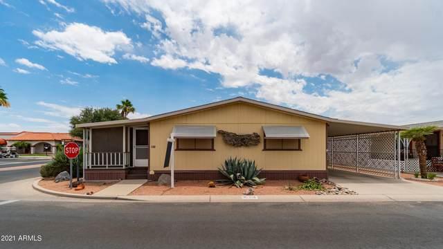 450 W Sunwest Drive #118, Casa Grande, AZ 85122 (MLS #6256466) :: Long Realty West Valley