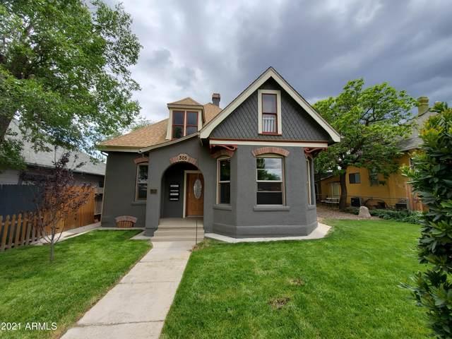 305 N Mount Vernon Avenue, Prescott, AZ 86301 (MLS #6258668) :: Yost Realty Group at RE/MAX Casa Grande