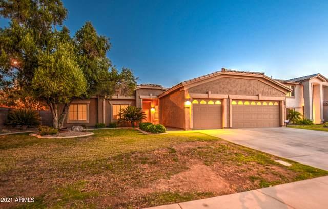 1245 E San Carlos Way, Chandler, AZ 85249 (MLS #6259119) :: Executive Realty Advisors