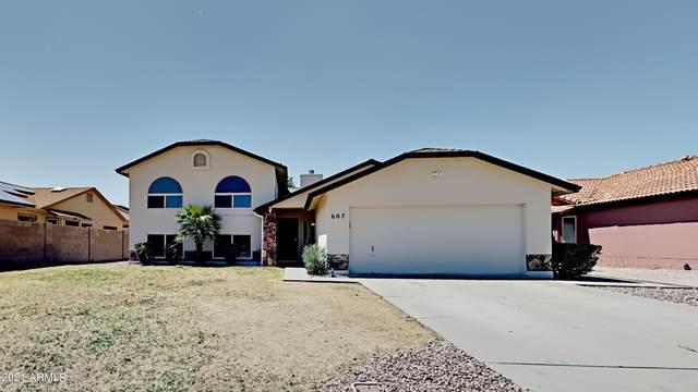 607 E Appaloosa Road, Gilbert, AZ 85296 (MLS #6259485) :: Yost Realty Group at RE/MAX Casa Grande