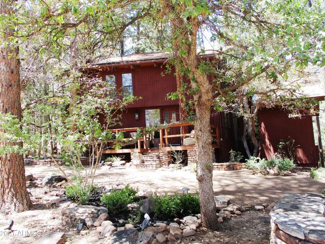 6174 W Pinon Loop, Pine, AZ 85544 (MLS #6259810) :: Yost Realty Group at RE/MAX Casa Grande