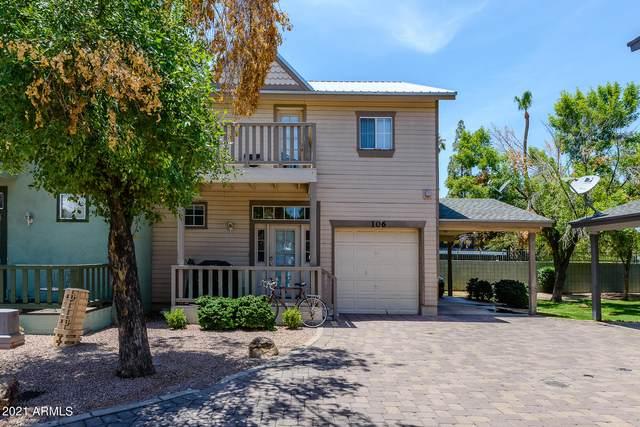 2016 S Hammond Drive #106, Tempe, AZ 85282 (MLS #6261201) :: Conway Real Estate