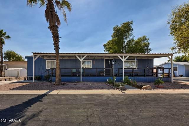 19602 N 32nd Street #37, Phoenix, AZ 85050 (MLS #6261212) :: Jonny West Real Estate