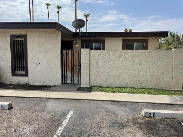 830 S Dobson Road #27, Mesa, AZ 85202 (MLS #6261752) :: Yost Realty Group at RE/MAX Casa Grande