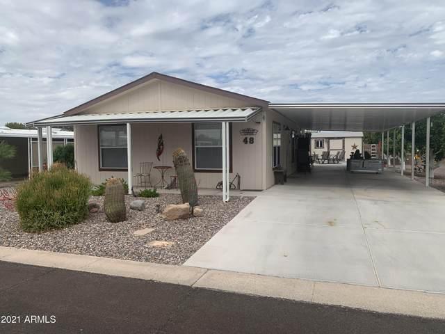 3160 E Main Street #48, Mesa, AZ 85213 (MLS #6262307) :: The Laughton Team