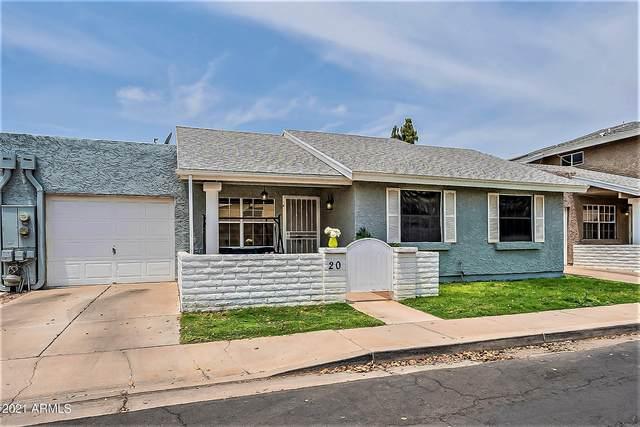 2929 E Broadway Road #20, Mesa, AZ 85204 (MLS #6262965) :: The Daniel Montez Real Estate Group