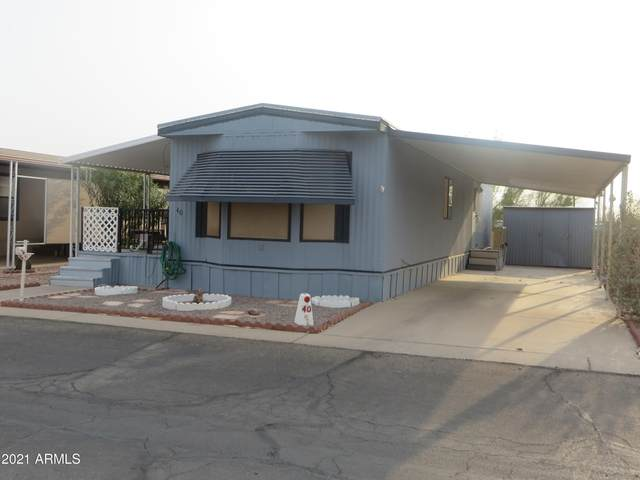 9427 E University Drive #40, Mesa, AZ 85207 (MLS #6263647) :: The Garcia Group