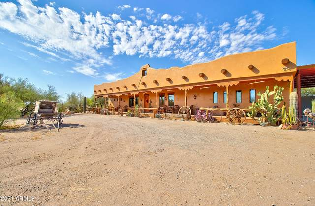 3158 S White And Parker Road, Stanfield, AZ 85172 (MLS #6263770) :: Long Realty West Valley