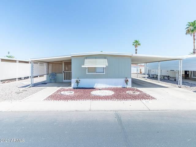 2100 N Trekell Road #68, Casa Grande, AZ 85122 (MLS #6264266) :: Dave Fernandez Team | HomeSmart